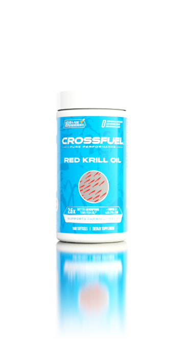 CROSSFUEL Red Krill Oil - Rapid Absorption Omega