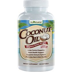 Nu Source Coconut Oil 1000 mg