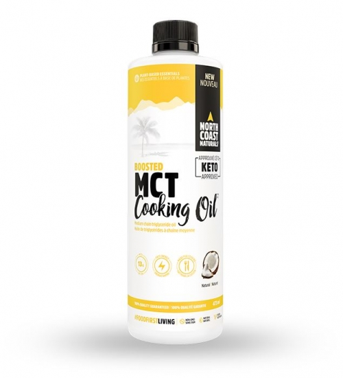 Boosted MCT Cooking Oil