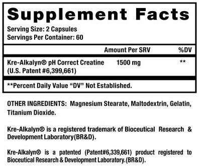 EFX Kre-Alkalyn 750 mg
