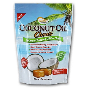 Coconut Oil Chews