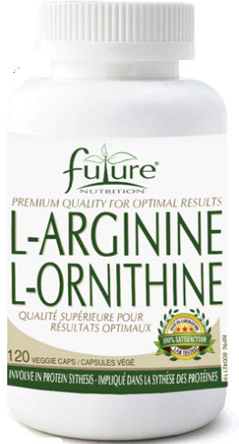 L-Arginine 500/Ornithine 250 - Future Nutrition